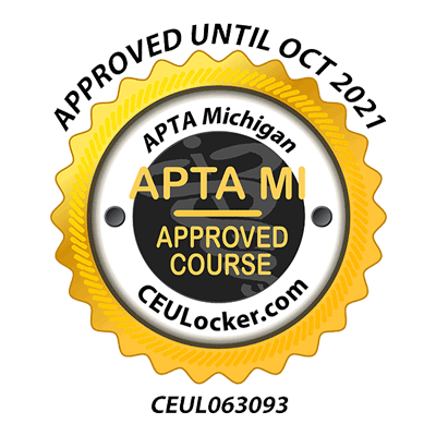 APTA MI Approved Course